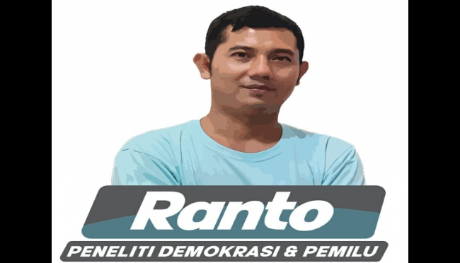 Ranto (Peneliti Demokrasi dan Pemilu di Ranto Research and Consulting).(ist)