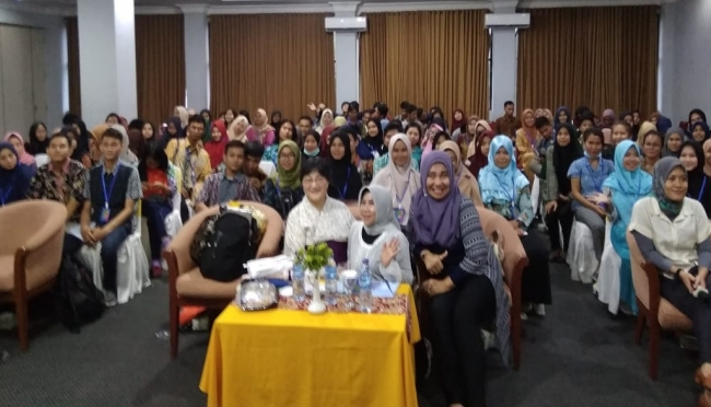International Classical on Asian Community (ICAC) memasuki pertemuan ketujuh dan digelar di Ball Room Hotel Bumi Asih Pangkalpinang, Jumat (27/3/2019).(wb)